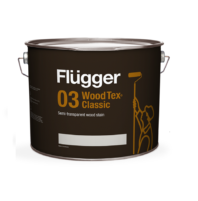 Flugger 03 Wood Tex Classic Semi Transparent