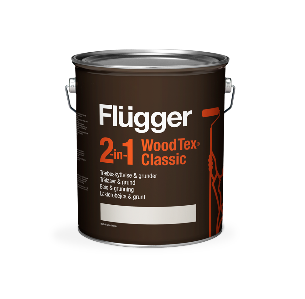 Flügger 2-in-1 Wood Tex Classic