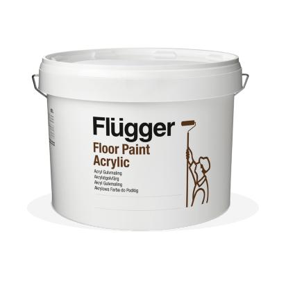 Flügger Fluganyl Acrylic Floor Paint