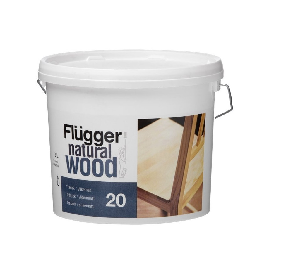 Flügger Natural Wood Lacquer 20
