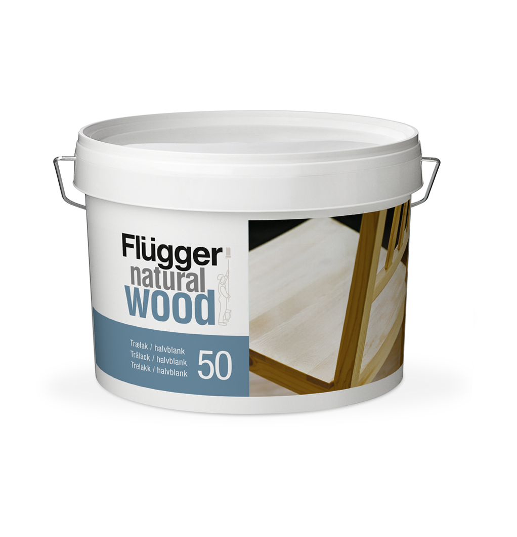 Flügger Natural Wood Lacquer 50, Дания