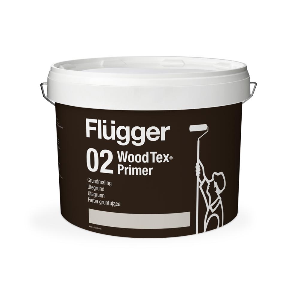 Flügger Wood Tex Grundmaling, Дания